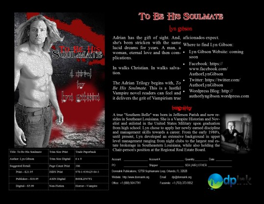 To Be His Soulmate Sell Sheet
