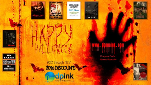 Fall 2014 Halloween Discounts through my Publisher.