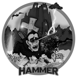 Hammer Dracula Dead and not putting up with it