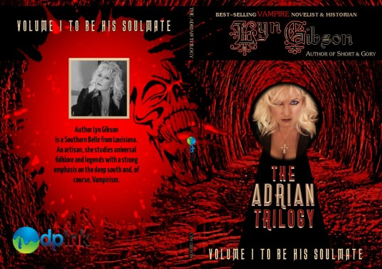"Join the Legacy, Feed your Fury, Become an Adrian Trilogy Soulmate today . . .   Adrian has the gift of sight. And, she's been stricken with the same lucid dreams for years. A man, a woman, eternal love and then complications.  In walks Christian. In walks salvation.  The Adrian Trilogy begins with, ""To Be His Soulmate."" This is a lustful vampire novel readers can feel and it delivers the grit of vampirism true aficionados expect.  This title is receiving EXCELLENT reviews from readers among the vampire and horror genres. To learn more about this author and these titles, visit the publisher at www.donnaink.com, drop-down the fiction menu, look for the horror shelf and voila' ~ find Lyn Gibson's titles! Also, visit the ""SERIES"" menu on the navigation bar.  __________________ Visit www.donnaink.com for deep pocket discounts."